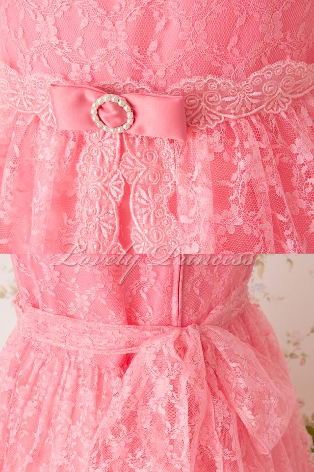 結婚式子供ドレス オリビア コーラル