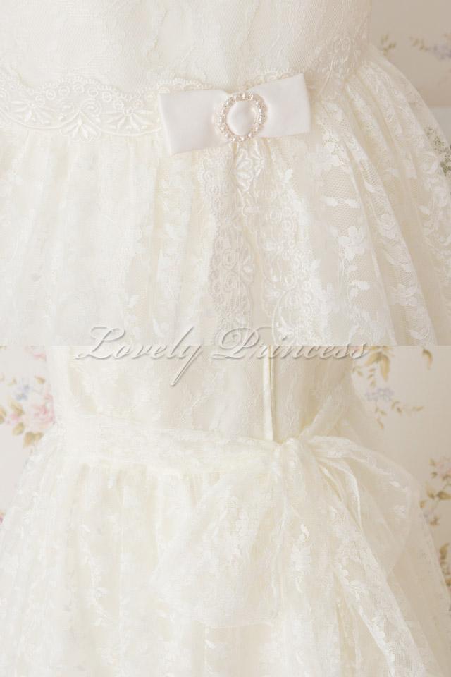結婚式子供ドレス オリビア アイボリー