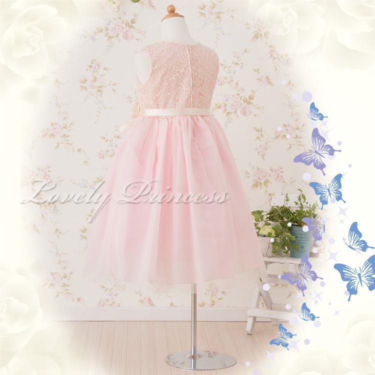 可愛い子供ドレス カーラ ピンク