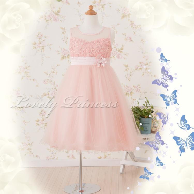 子供ドレス クレール ピンク