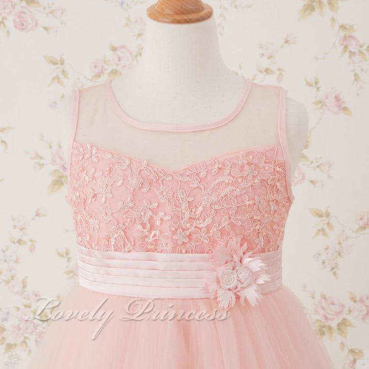 結婚式子供ドレス クレール ピンク