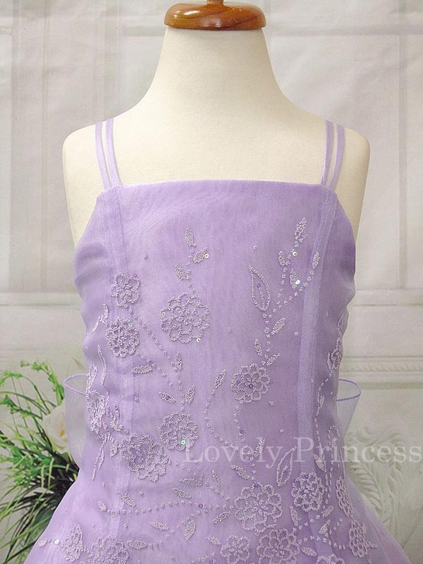 子供のドレス リンダ ライラック