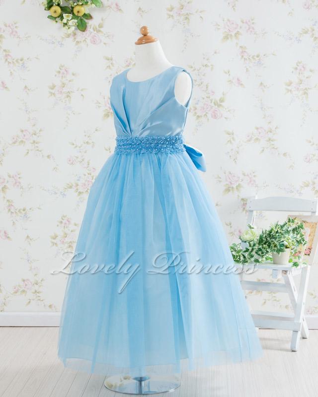 コンクール子供ドレス・ジュニアドレス アナベル ブルー