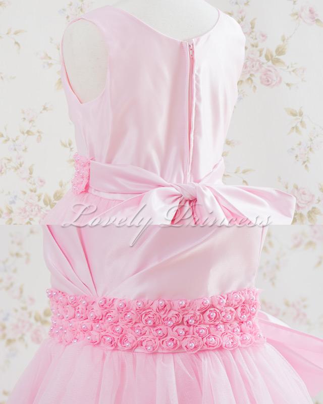 結婚式子供ドレス・ジュニアドレス アナベル ピンク