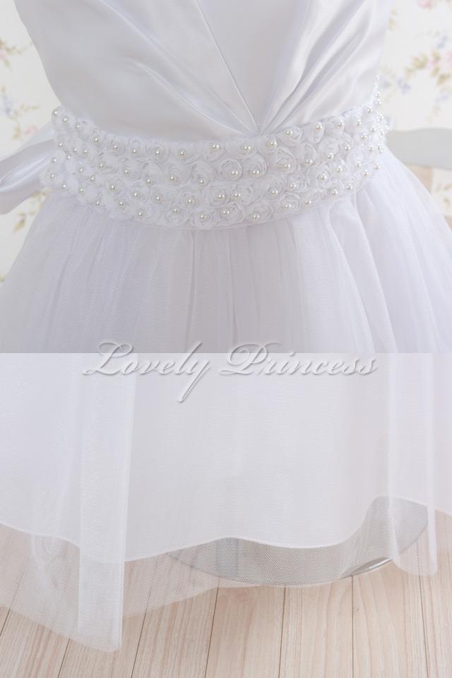 結婚式子供ドレス・ジュニアドレス アナベル ホワイト