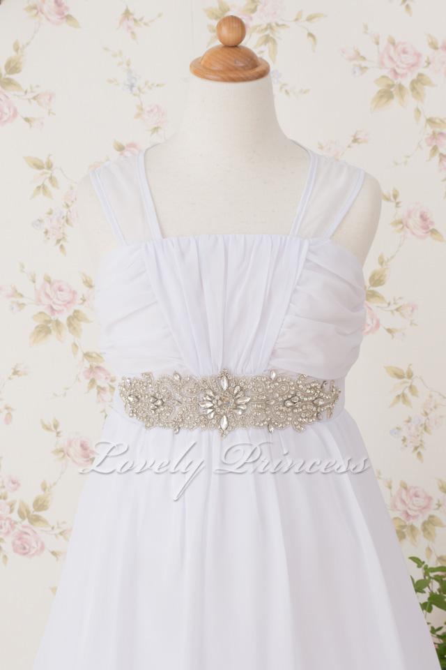子供ドレス ベアトリス ホワイト