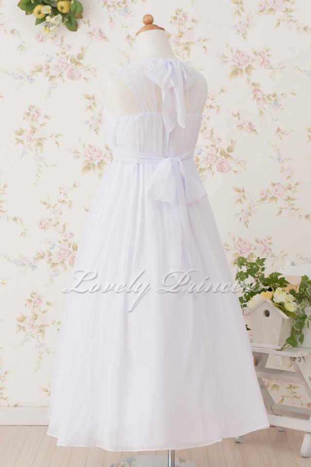 ドレス子供用 ベアトリス ホワイト