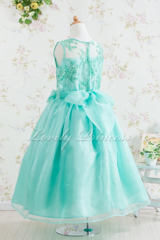 結婚式子供ドレス ミランダ ミント