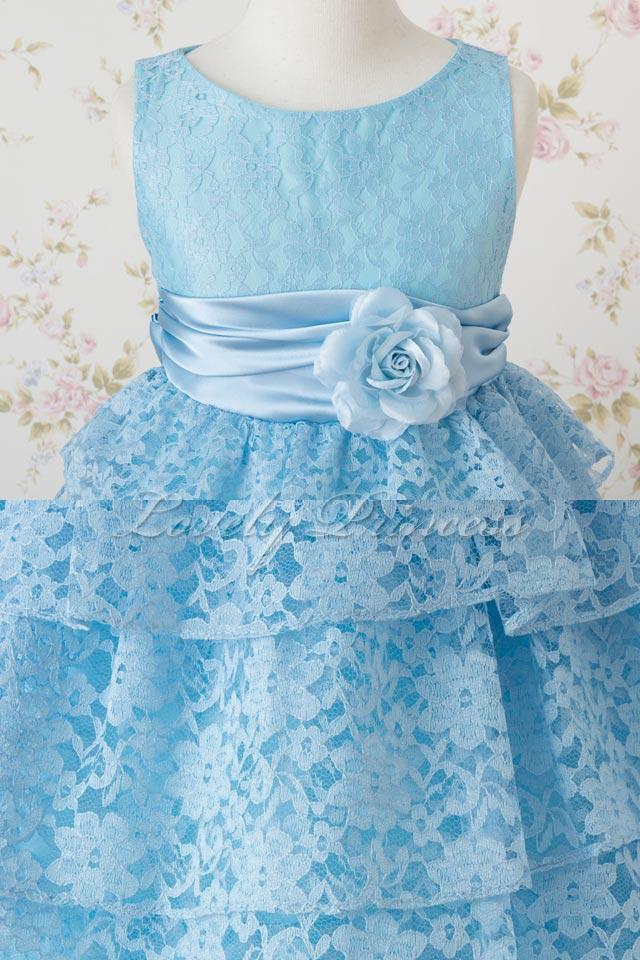 演奏会子供ドレス ジェマ ブルー