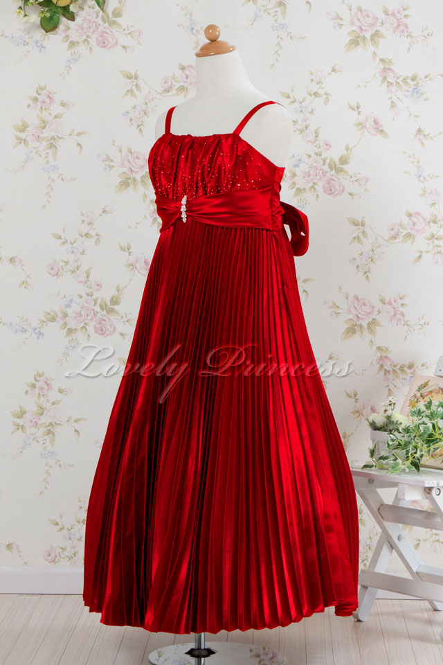 コンクール子供ドレス テレサ レッド