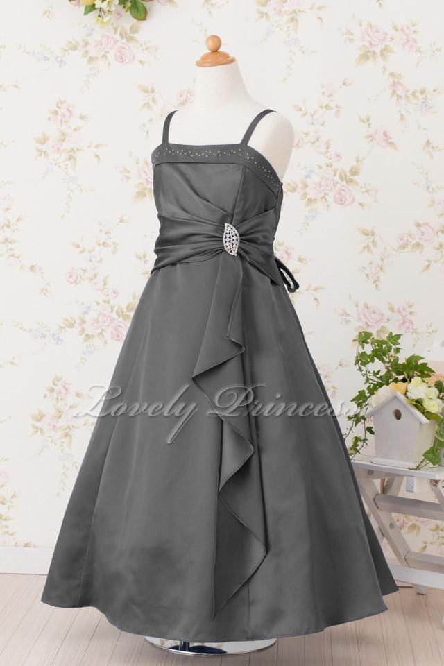 コンクール子供ドレス ゲイル ブラック
