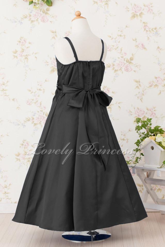 結婚式子供ドレス ゲイル ブラック