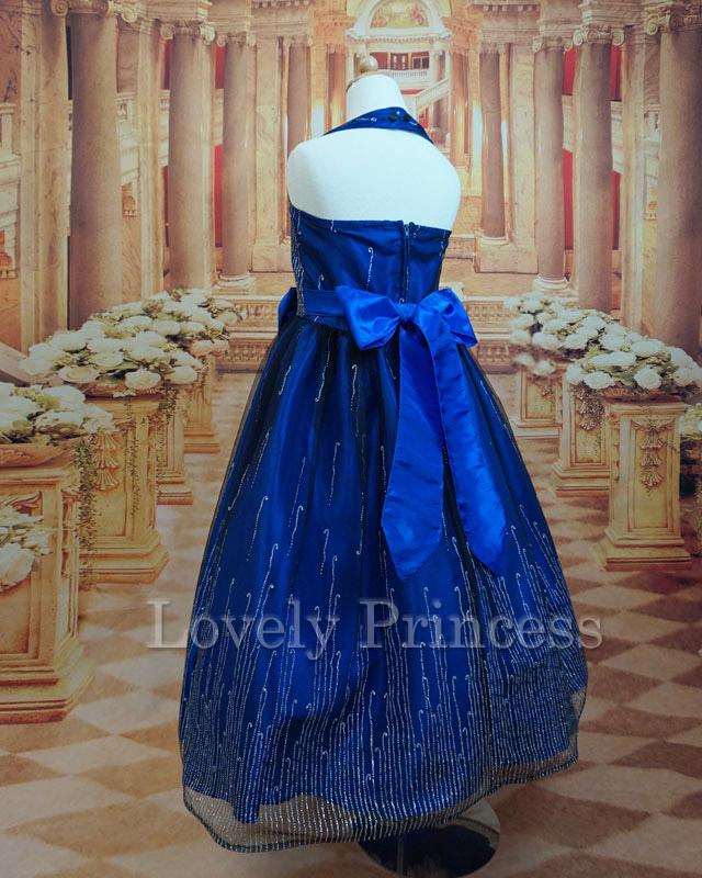 結婚式子供ドレス シルヴィ ロイヤルブルー